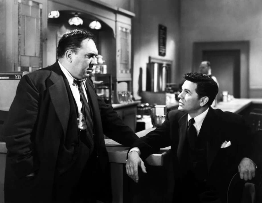 """Thomas GomezIn 1948, Gomez (pictured left) was nominated for an Oscar for """"Best Actor in a Supporting Role,"""" for his work in the film """"Ride the Pink Horse."""" He was born in New York City. Photo: MGM 1948"""