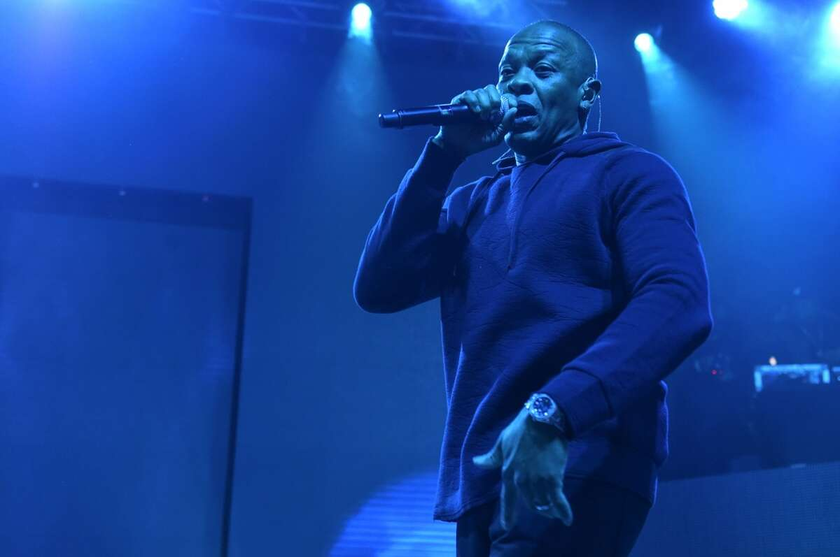 Dr. Dre One of the godfathers of hip-hop, we still haven't seen the long-discussed third album, at one point titled Detox, from Dre. But it's not like the rapper/mogul hasn't been busy. Dre made one of 2014's biggest deals when he sold his headphone line Beats to Apple for a reported $3 billion. He'll also have a high-profile around the release of the N.W.A. biopic, Straight Outta Compton.