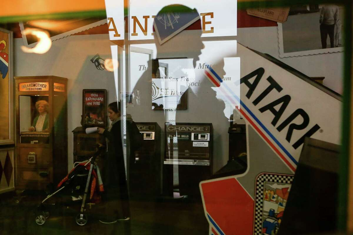 Children, tourists and locals are drawn to the nostalgic games at Musee Mecanique.