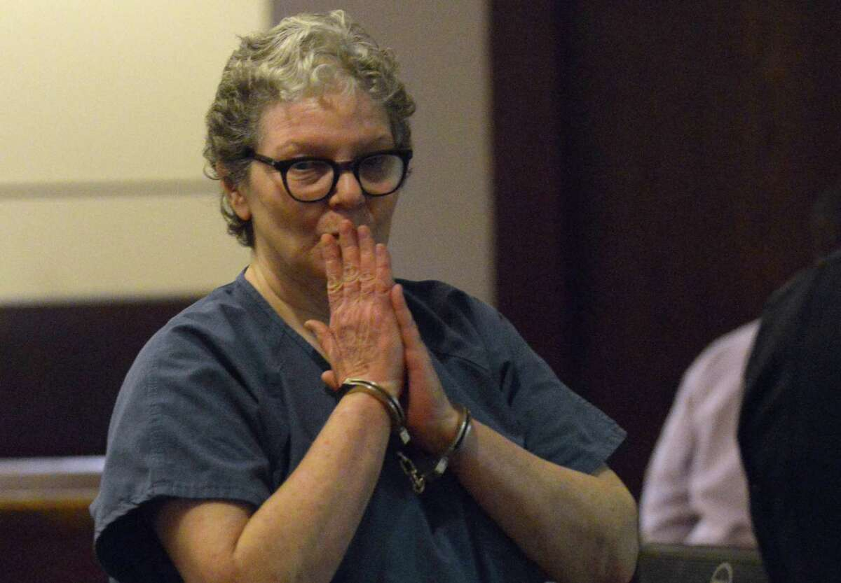 Sandra Briggs, who was convicted in 2012 in the drunk driving death of police officer Sergio Antillon, attends a hearing in 186th District Court to determine if she will receive a new trial. Her attorneys are challenging the legality of the blood draw used to convict her. Jurors sentenced her to 45 years, meaning she will no be eligible for parole until she is 81.