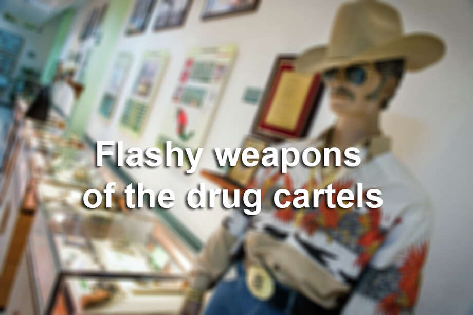Whether it's the Juarez Cartel or Sinaloa's 'Chapo' Guzman, one thing the cartels in Mexico and South America have in common are flashy weapons. Photo: The Washington Post, Getty Images / 2010 The Washington Post