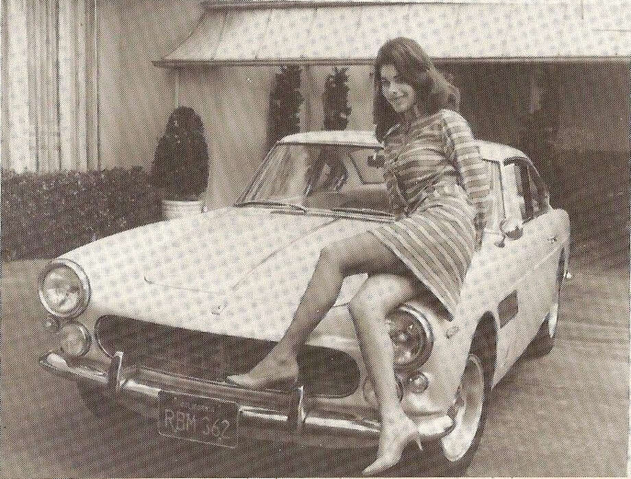 "Sandra West (Jan. 2, 1939-March 10,1977) was a Beverly Hills socialite and wife of Texas oil tycoon Ike West (Aug 29, 1934-January 1968). When she made her will, she requested that she be buried inside a Ferrari (shown here) ""with the seat slanted comfortably."" Photo: File Photo"