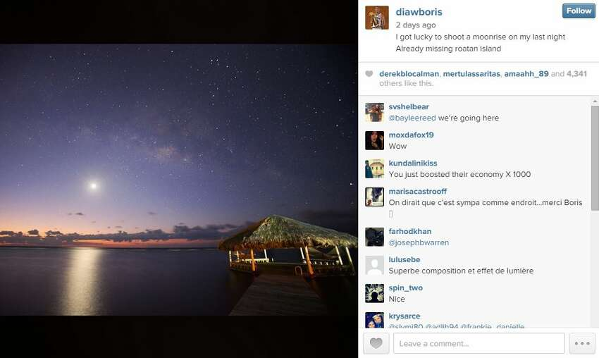 The picturesque scenery gave Diaw the opportunity to practice a different type of shooting. An avid photographer, Diaw snapped this photo while vacationing in paradise. See the photo on his Instagram account.