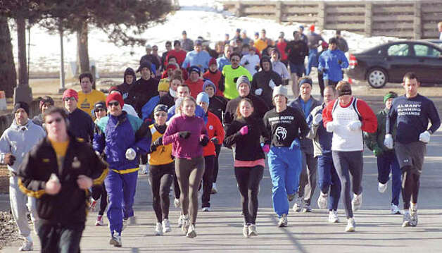 Sports: Running clubs, like the Albany Running Exchange (pictured above), and the Hudson Mohawk Road Runners Club (Paul Buckowski/Times Union) Photo: Paul Buckowski / Times Union / Albany Times Union