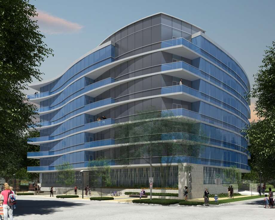 New York-based firm Philip Johnson/Alan Ritchie, responsible for some of the most iconic architecture in Houston, designed a 34-unit residential tower at 3615 Montrose. Developer Riverway Properties hopes to break ground in 2016. Photo: Philip Johnson/Alan Ritchie