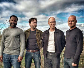 The Lemon Hammer: Damond Moodie (left), Alexis Harte, Aaron Brinkerhoff, Ferg Lenehan