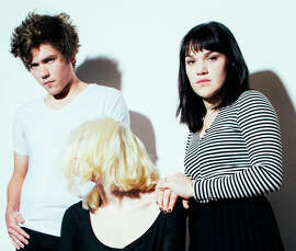 Cherry Glazerr: Sean Redman (left), Clementine Creevy and Hannah Uribe. The band be at Bottom of the Hill in S.F. on Saturday.