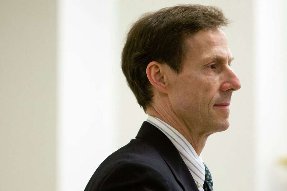 James Osborne, formerly an information technology leader at REI, claims he was pushed out months after settling a product-defect lawsuit against the company. Osborne is shown here Thursday, February 19, 2015, during closing arguments at the King County Courthouse in Seattle, Washington. Photo: JORDAN STEAD, SEATTLEPI.COM / SEATTLEPI.COM
