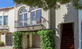 2360 Bay St. in the Marina District is a two-bedroom flat occupying a full floor in a luxury building.