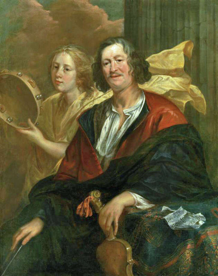 The Bruce Museum is holding a college student symposium from noon to 4 p.m. Saturday addressing art on exhibit, including this painting by Jacob Jordaens (1593-1678), Portrait of a Musician (a Self-Portrait?) with his Muse. For further information, call 203- 869-0376. Photo: Contributed Photo / Greenwich Time Contributed