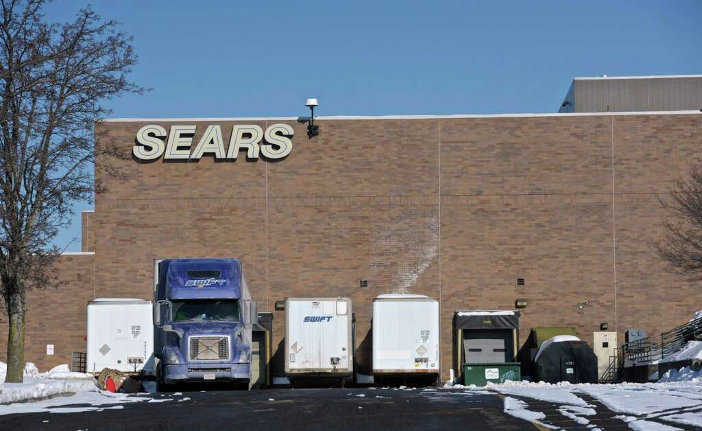 superior the danbury #1: The loading docks for the Sears retail space in the Danbury Fair Mall, on  Tuesday