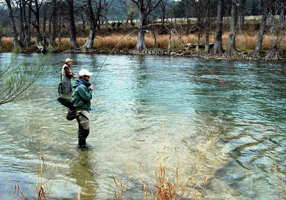 Troutfest offers great way to learn on the fly san for Guadalupe river fly fishing