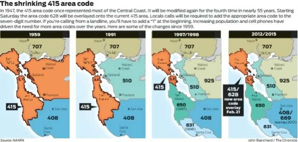 415 meet 628 New SF area code debuts Saturday SFGate