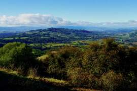 The Bay Area's newest park offers this view toward Bennett Valley and Santa Rosa from about 1,700 feet elevation along the Ridge Trail in Sonoma County.