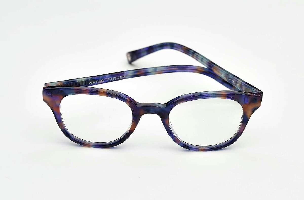 Warby Parker Newton in Aurelia Tortoise, $95, 357 Hayes St., www.warbyparker.com