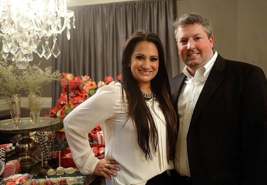 Ayna and John Pat Parsons hosted the Heart Ball appreciation party Thursday night at their home in Beaumont. Photo taken Thursday, February 18, 2015 Kim Brent/The Enterprise Photo: Kim Brent / Beaumont Enterprise