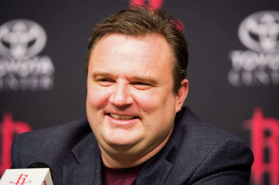 Rockets general manager Daryl Morey has not let a trade deadline day pass without making a deal, even if the ones completed Thursday were short on pizzazz. Photo: Smiley N. Pool, Staff / © 2013  Houston Chronicle