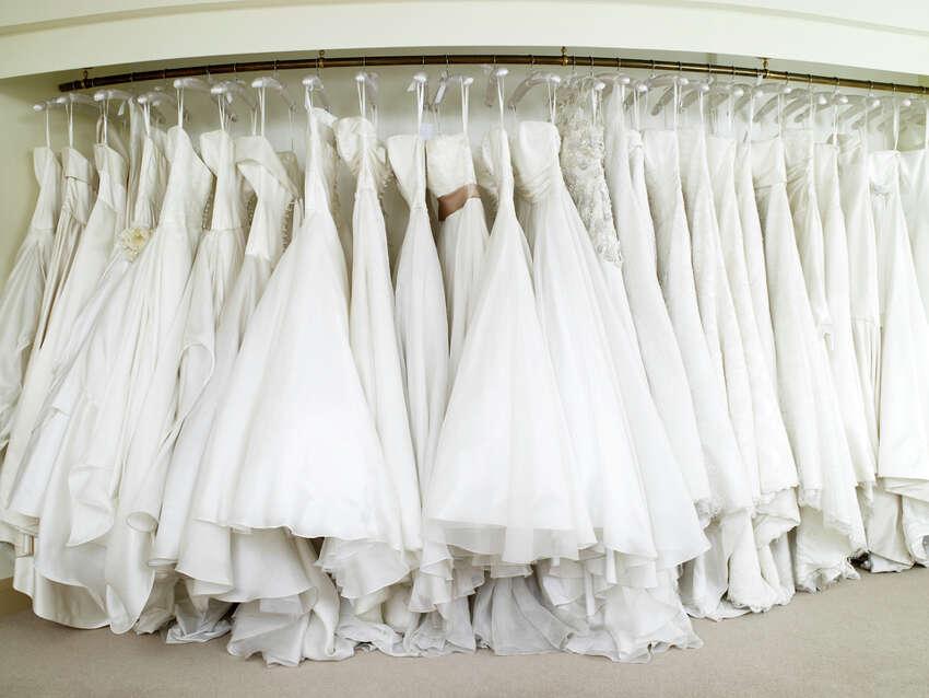 Average Wedding Dress Cost: $1,281