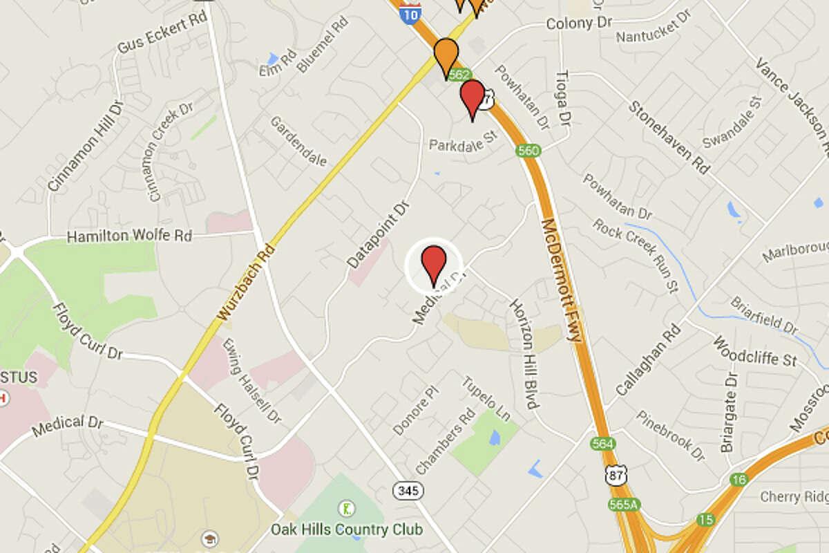 TAQUERIA DATA POINT: 4063 MEDICAL DR San Antonio , TX 78229Date: 02/12/2015Demerits: 16