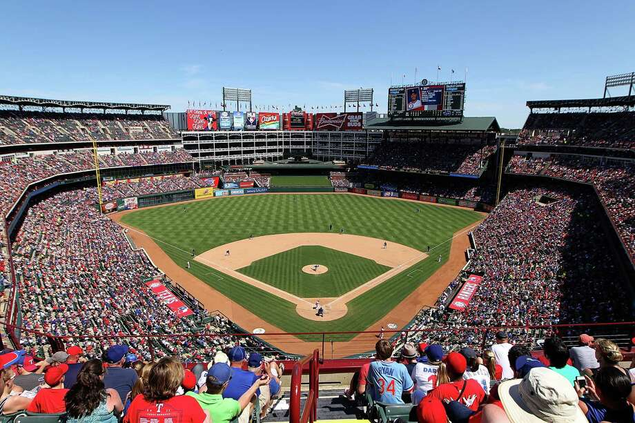 A general view of the field at Rangers Ballpark in Arlington on June 2, 2013 in Arlington, Texas. Photo: R. Yeatts, Getty Images / 2013 Rick Yeatts