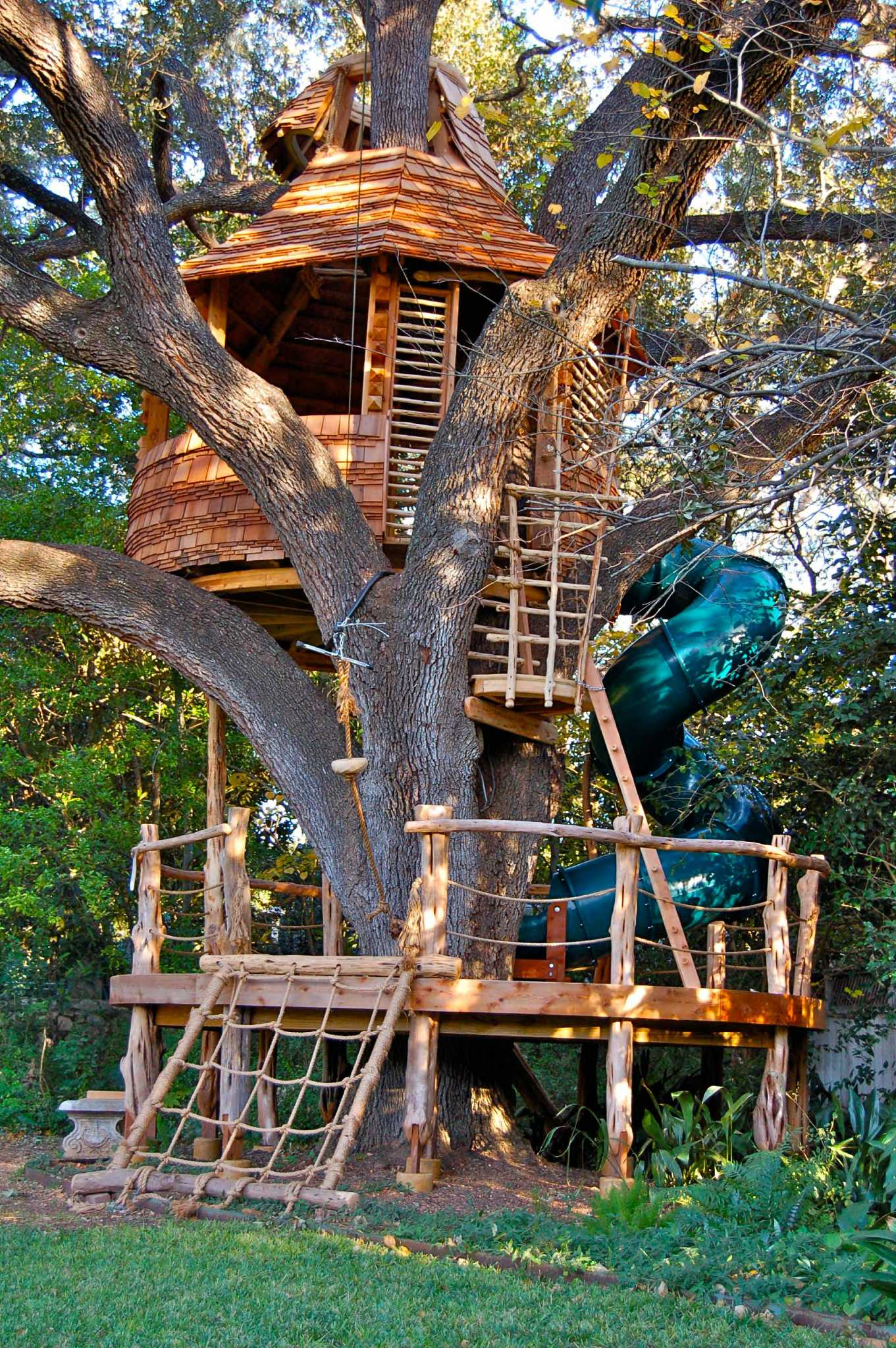 2 sa treehouses to be on treehouse masters san antonio express news