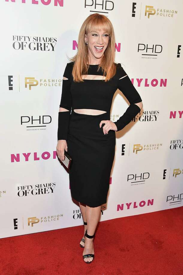 """Kathy Griffin, now host of the E network's """"Fashion Police,"""" says no one is hands off at the Academy Awards, even friends. Photo: Theo Wargo / Theo Wargo / Getty Images For Nylon / 2015 Getty Images"""