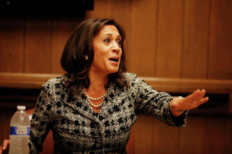 California Attorney General Kamala Harris finally said the obvious — marijuana legalization in the state is inevitable. Photo: Pete Kiehart / The Chronicle / ONLINE_YES