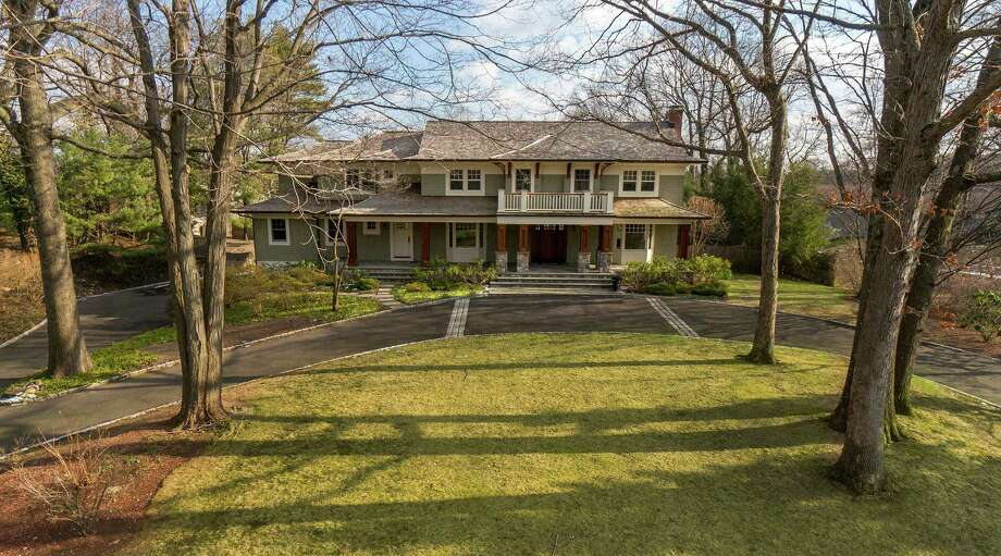 The property at 27 Harbor Road is on the market for $4,249,000. Photo: Contributed Photo / Darien News
