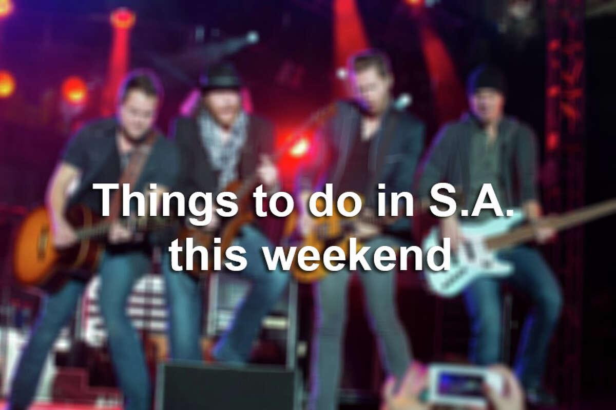Click through the gallery for 35 things to do this weekend in San Anotnio