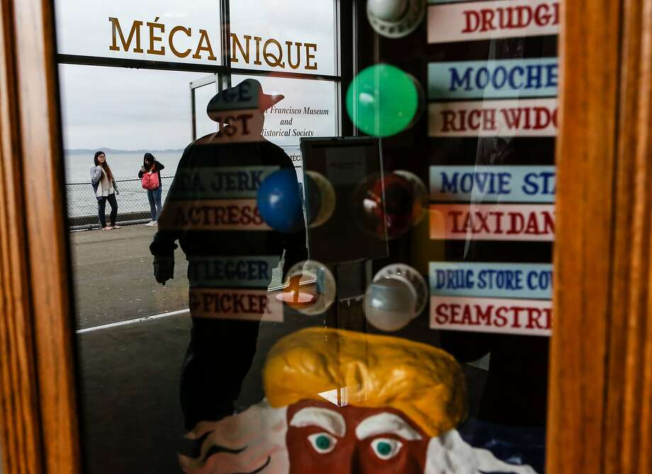 Children, tourists, and local are all attracted to nostalgia and fun inside Musee Mecanique located in Fisherman's Warf, San Francisco on Tuesday, February 17, 2015. Photo: Amy Osborne, The Chronicle