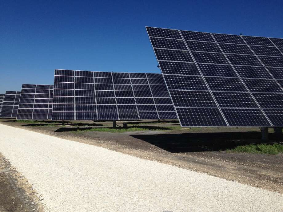 The Mission Solar 3 solar farm produces power for CPS Energy. Solar is the fastest-growing segment of the electricity market with a 43 percent compounded annual growth rate from 2004-2014, according a new report by consulting firm Deloitte. Photo: CPS Energy