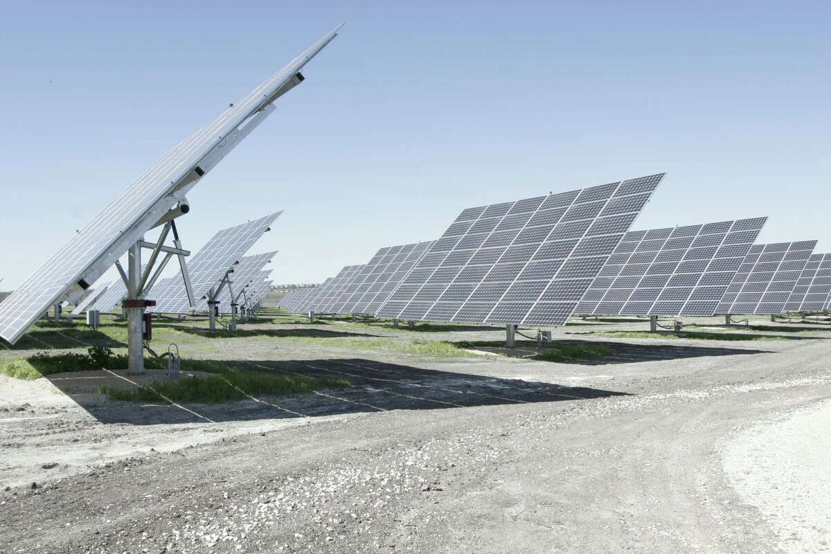 CPS Energy's Mission Solar 3 plant near Converse can produce 5.5 megawatts of power.