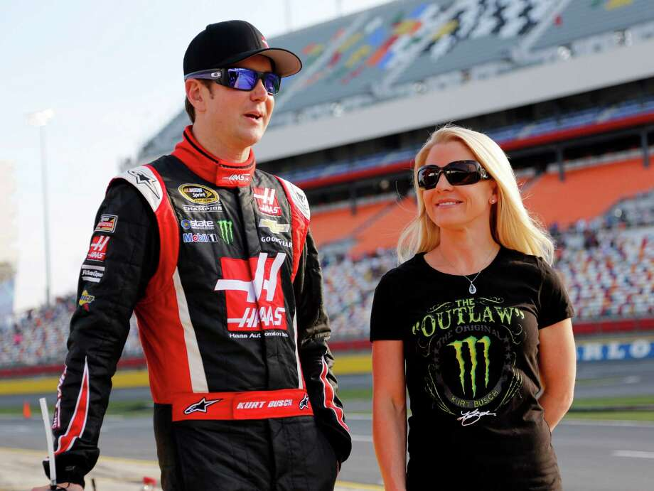 A judge said Kurt Busch, left, almost surely strangled and beat Patricia Driscoll, right, and there was a likelihood of more violence from him. Photo: Terry Renna, FRE / FR60642 AP