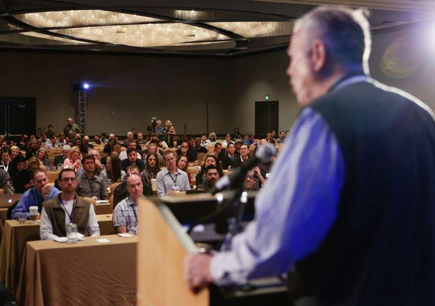 Representative Dana Rohrabacher, an Orange County Republican congressman who is one of the leading voices for legalizing marijuana in the country. Rohrabacher spoke of his support at the International Cannabis Business Conference in San Francisco, Calif., on Sunday, February 15, 2015.