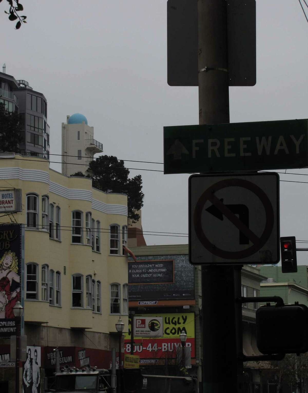 Pasquale's Tower, reached by an alley off a steep block of Kearny Street, is one of the most distinct buildings on Telegraph Hill . It was built by an Italian immigrant, Pasquale Gagno, in 1933.