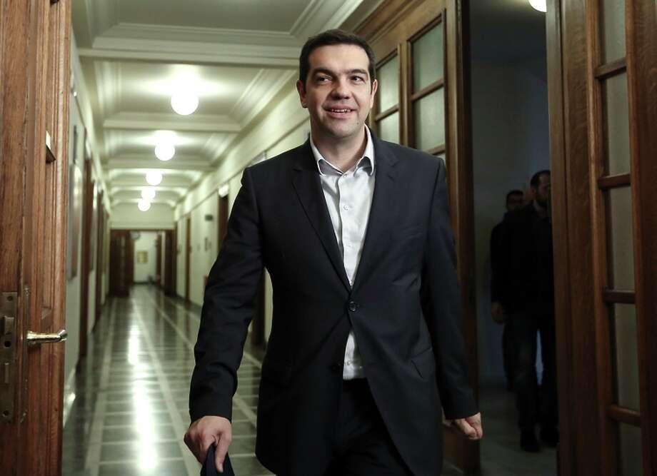 "Greek prime minister Alexis Tsipras hailed the ""important success"" of Greece's negotiations. Photo: Kostas Baltas / Associated Press / InTime News"