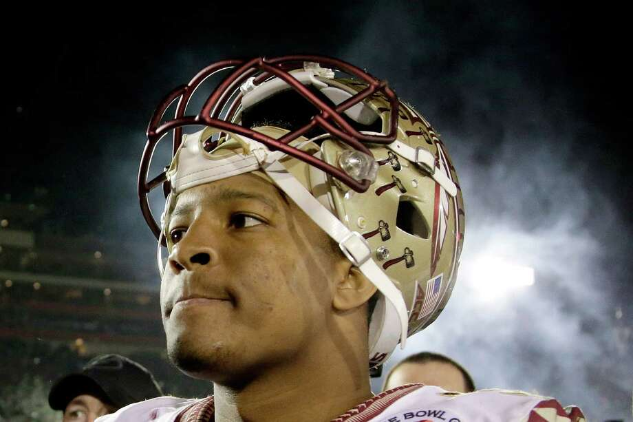 Florida State's Jameis Winston may be the lone college quarterback this year who NFL scouts believe is pro-ready. Photo: Jeff Gross, Stringer / 2015 Getty Images