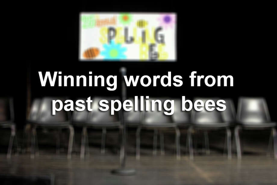 The San Antonio Express-News 63rd Annual Regional Spelling Bee was at Trinity University on Saturday. The following are the winning words from past spelling bees back to 2003. Photo: Leonard Mc Lane, Getty Images / (c) Leonard Mc Lane