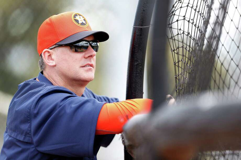 To lead the Astros to a successful season, manager A.J. Hinch will have to foster strong team chemistry. Photo: Karen Warren, Staff / © 2015 Houston Chronicle