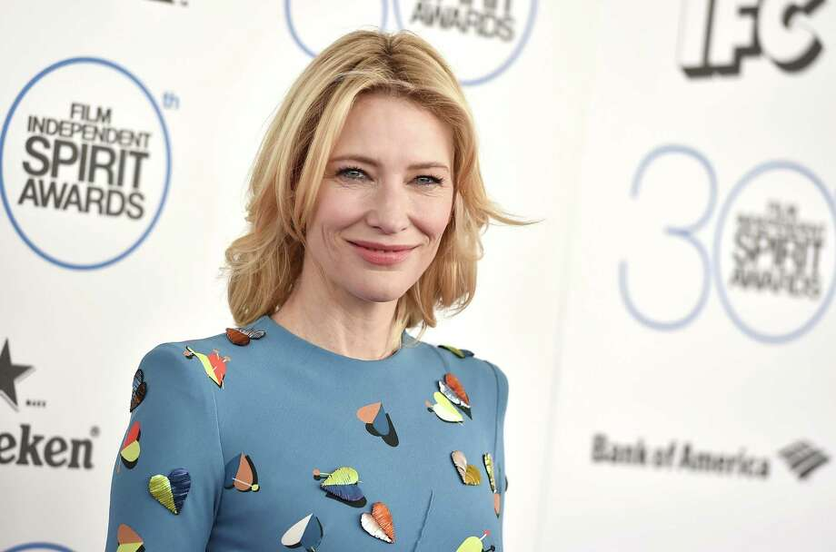 Cate Blanchett arrives at the 30th Film Independent Spirit Awards on Saturday, Feb. 21, 2015, in Santa Monica, Calif. Photo: Jordan Strauss, Jordan Strauss/Invision/AP / Invision