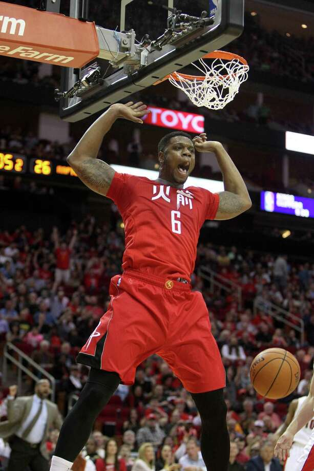 Rockets forward Terrence Jones had 11 points in 24 minutes off the bench in the win over the Raptors. Photo: Gary Coronado, Staff / © 2015 Houston Chronicle