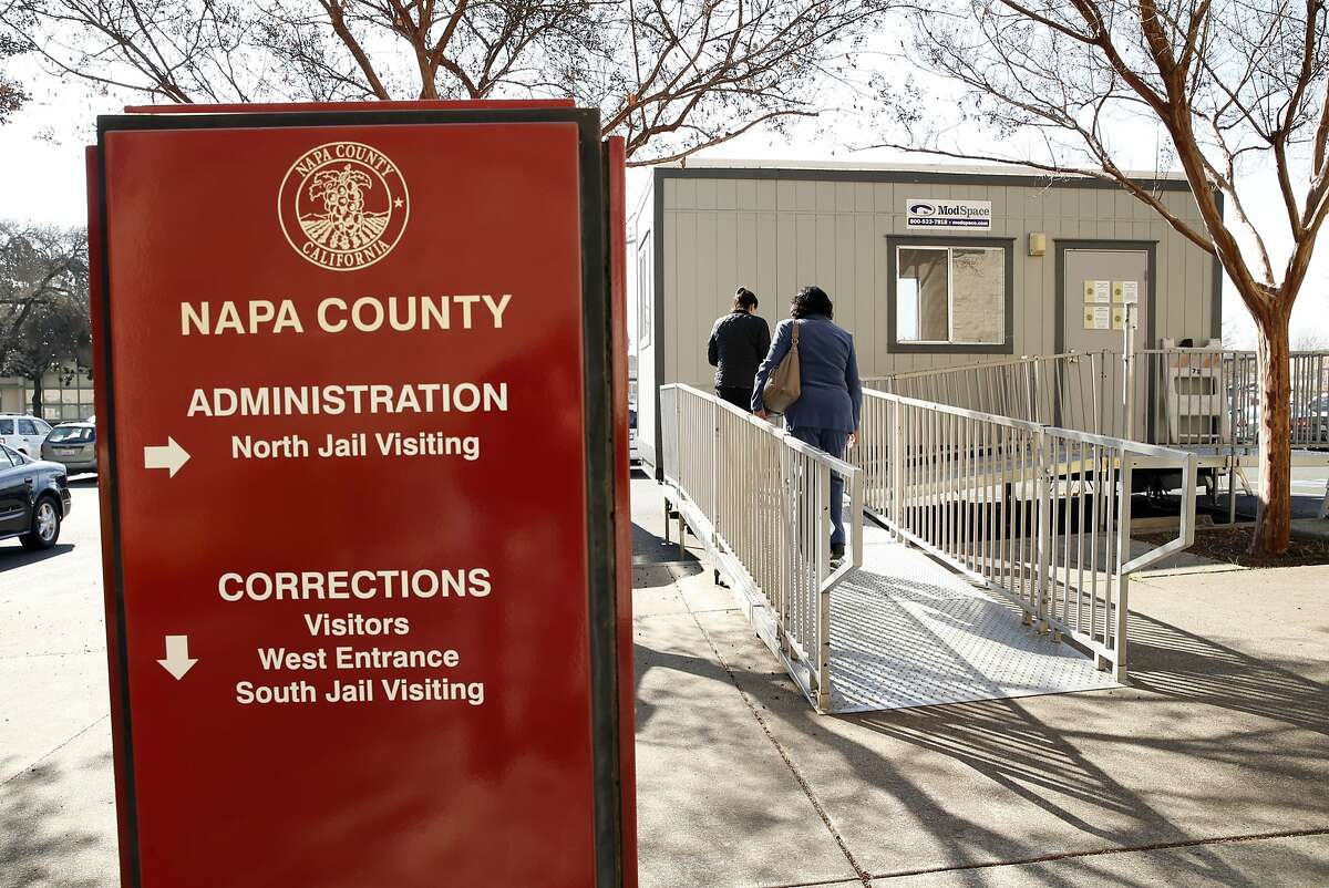 NAPA County Corrections Dept. County Jail Video Visitation Center in Napa, Calif. on Wednesday, February 18, 2015.