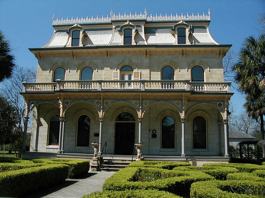 The Edward Steves house was built in 1877 in the Second Empire style that was made popular in France during the rule of Napoleon III. The flat mansard roof is one of the most notable features of the architectural style. Photo: Courtesy Photo