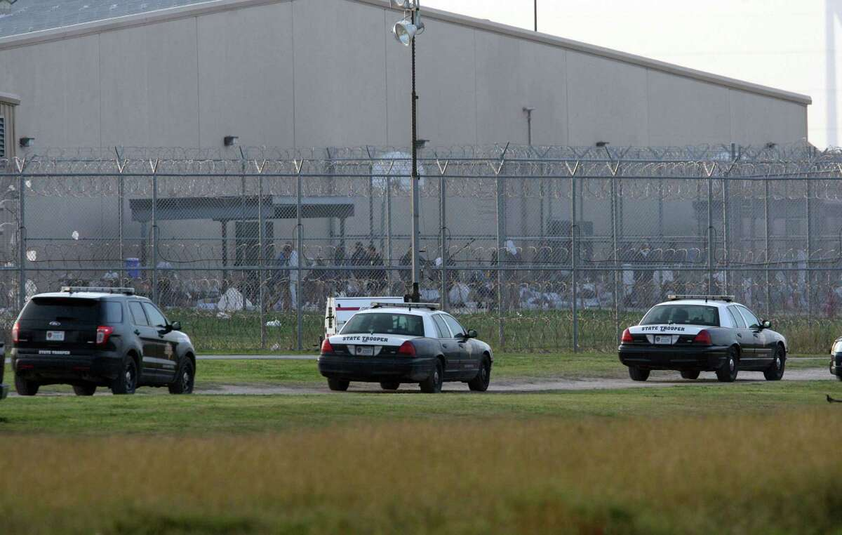 During the riot, authorities from a variety of agencies converged on the Willacy County Correctional Center.