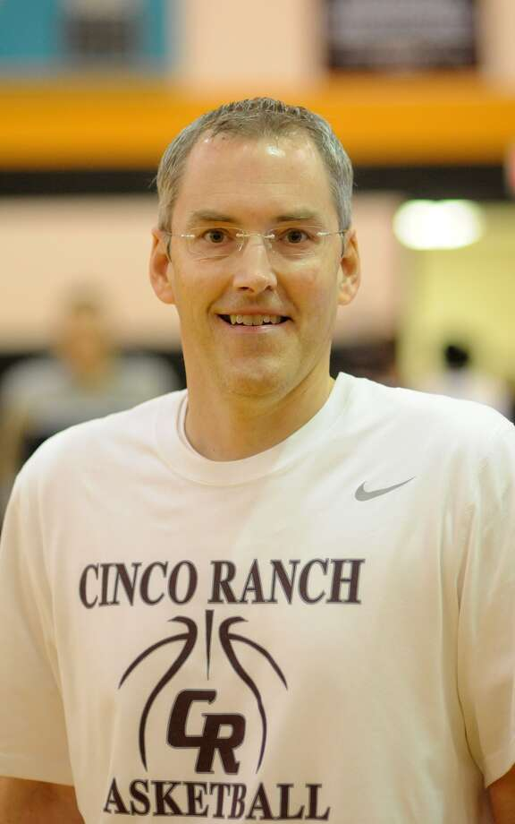 Cinco Ranch Head Basketball Coach Neil King Photo: Jerry Baker, Freelance