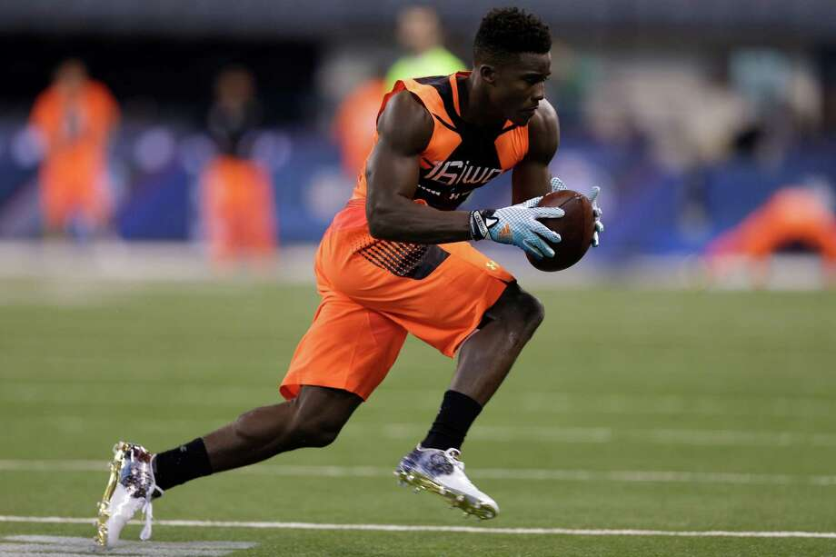 If the Texans fill a need on defense in the first round, a wide receiver like Miami speedster Phillip Dorsett could enter the picture in the second. Photo: David J. Phillip, STF / AP