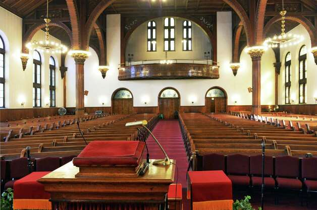 Interior of Wilborn Temple Friday Feb. 20, 2015 in Albany, NY.  (John Carl D'Annibale / Times Union) Photo: John Carl D'Annibale / 00030700A