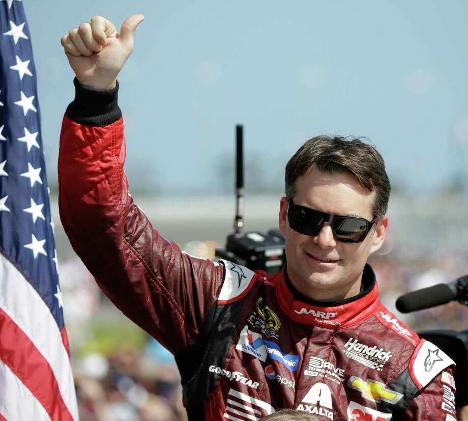 Jeff Gordon's final Daytona 500 produced some highs and lows, including plenty of applause from the fans, leading for most of the first half of the race, and a crash on the final lap that left him with a 33rd-place finish. Photo: John Raoux, STF / AP
