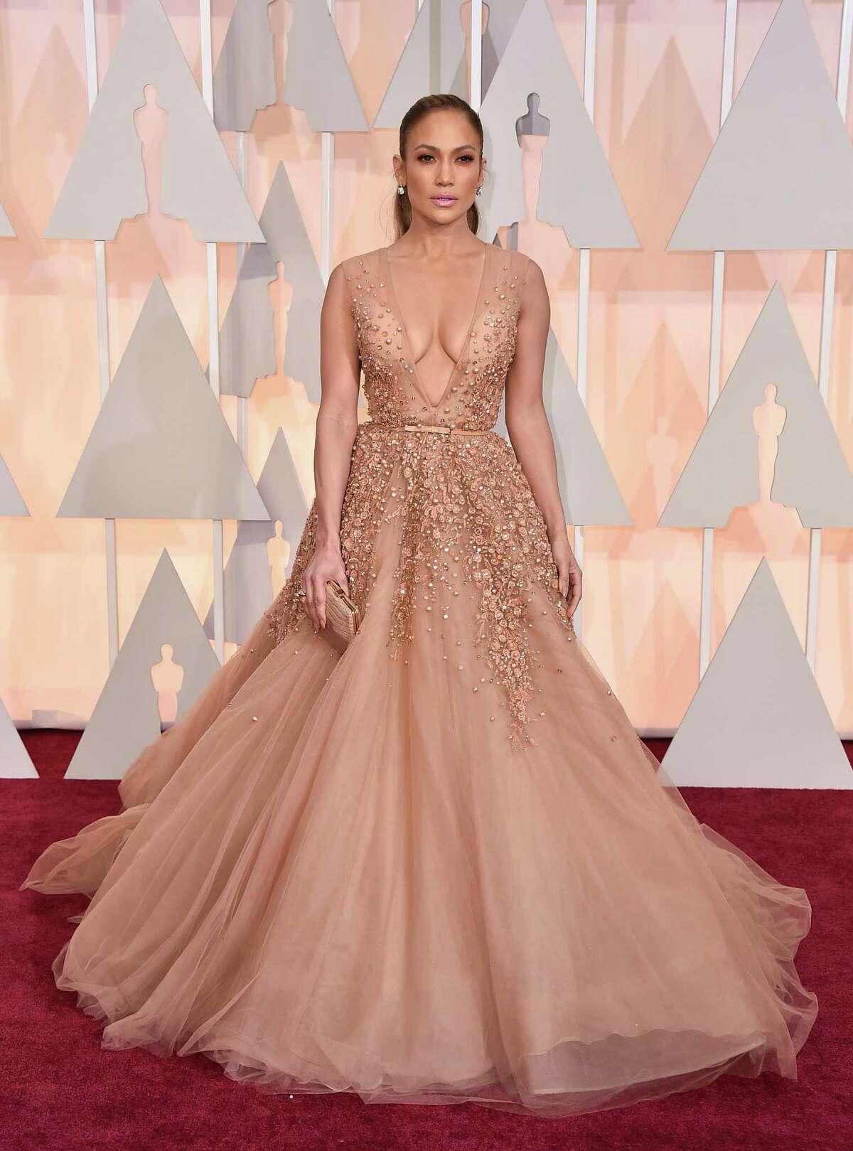 Jennifer Lopez goes dramatic.