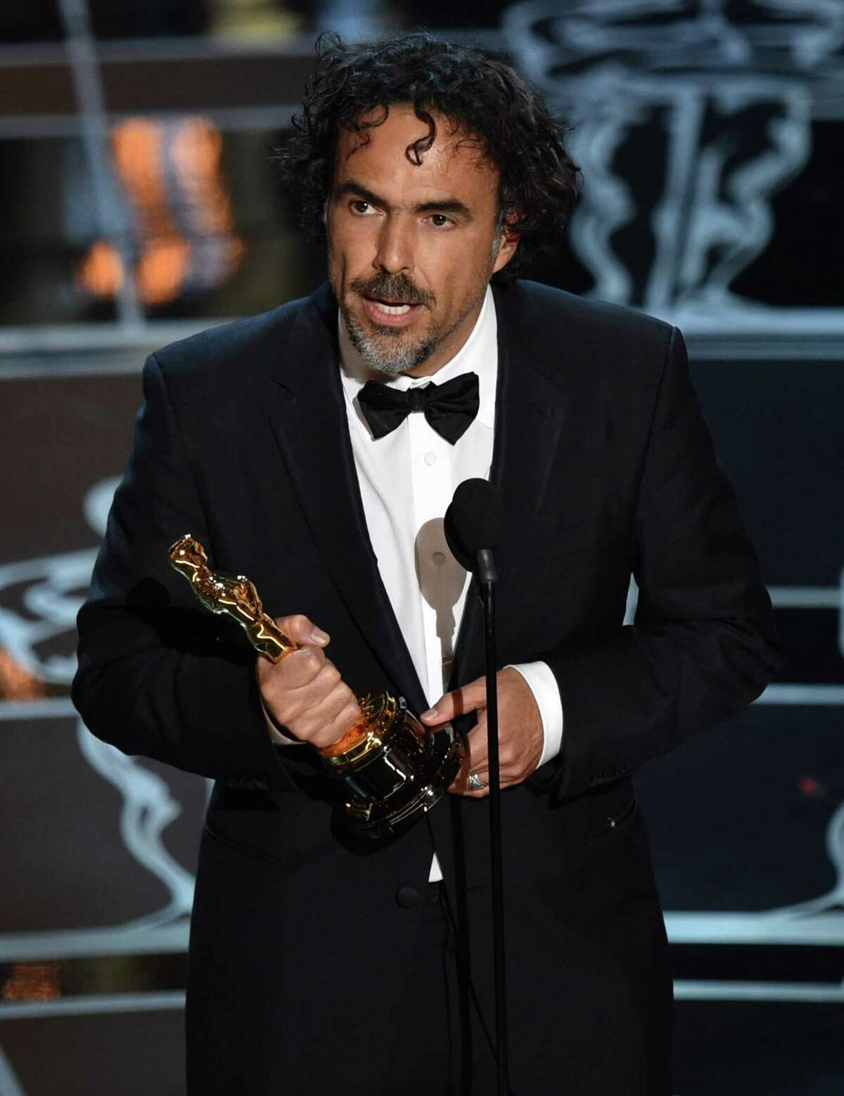 Alejandro G. Inarritu accepts the award for best director for ?